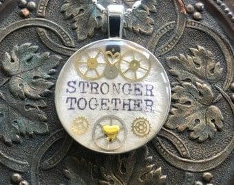 Stronger Together Necklace