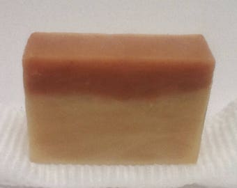 Vegan Cherry Almond Soap Bar with Soap Saver