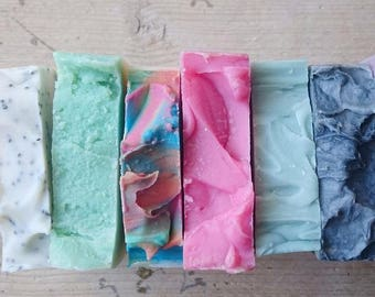 6 For 20! Pick Any 6 Of Our Cold Process Soaps For 20! Vegan Soap - Cruelty Free Soap - Cocktail Soap - British Soap - Hen Do Favours