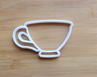Tea Cup 3D Printed Cookie Cutter | Tea Party / Bridal Shower