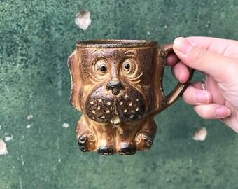 Vintage Puppy Dog Coffee Mug