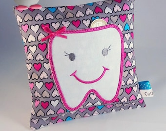 """""""Girly"""" tooth pillow"""