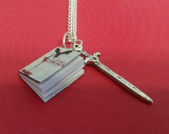 Game of Thrones mini book charm