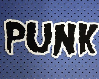 Punk Bumper Sticker