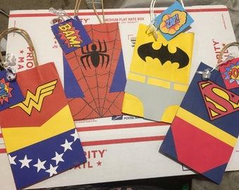 Superhero Favor Bags