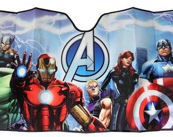 Sunshade...Avengers....Sizes Available