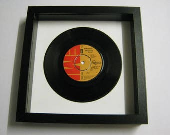 "Queen ""Bohemian Rhapsody"" Wall Framed 7"" Vinyl Record Gift/Present"