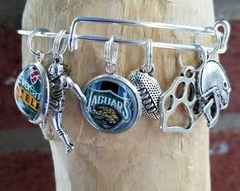 Jaguar bracelet with your choice of image