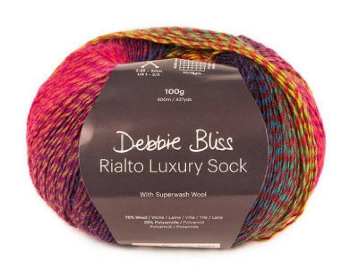 Debbie Bliss 'RIALTO LUXURY SOCK'.