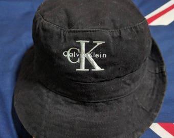 vintage 90s calvin klein bucket hat cap size L