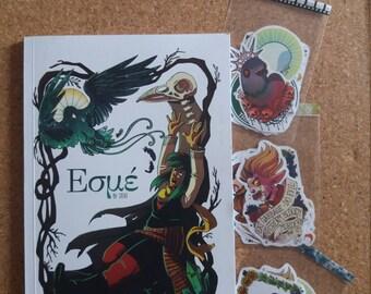 Special offer! Esmé comic + stickers