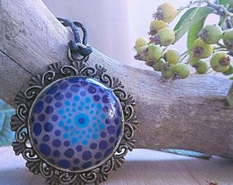 Mandala Pendant Blue