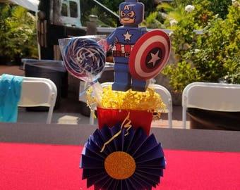 Super heroes centerpiece