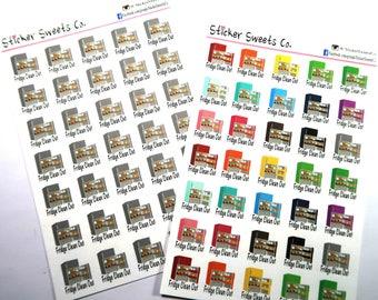 Refrigerator Planner Stickers