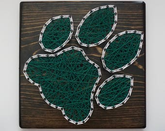 Ohio University Bobcats String Art, Ohio University Decor, Ohio University Gift, Bobcats Sign