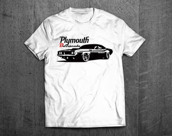 Classic Dodge Plymouth shirts, Plymouth Barracuda shirts, Cars t shirts, men tshirts, women t shirts, muscle car shirts Barracuda t shirt