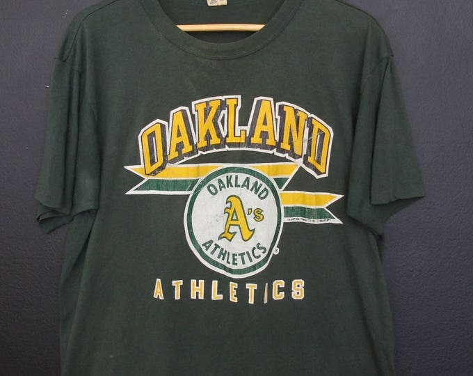 MLB Oakland Athletics A's 1988 vintage Tshirt