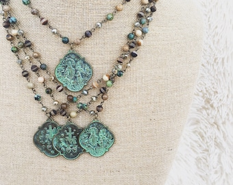 Patina Relic Necklace
