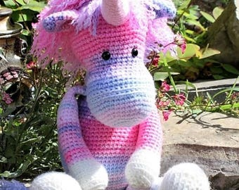 Ulla the Unicorn - Crochet Amigurumi Pattern PDF
