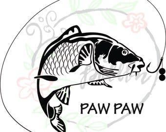 Carp Fish svg