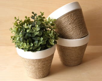 Handcrafted Plant Pot