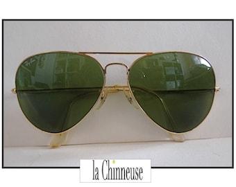 RAY - BAN AVIATOR Bausch & Lomb / Ray - Ban Aviator Sunglasses / Vintage Ray - Ban Bausch and Lomb / Aviator sunglasses Ray - Ban.