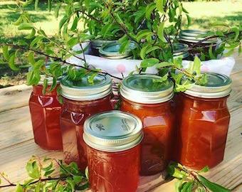 Homemade fresh fruit jam / oklahoma fruit jam / jams and jellies