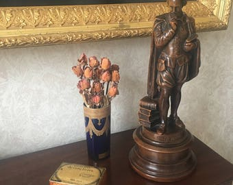 Vintage Tall Shakespeare Statue