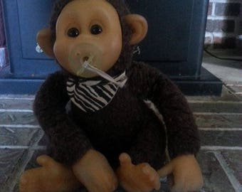Vintage Rubber Faced Monkey