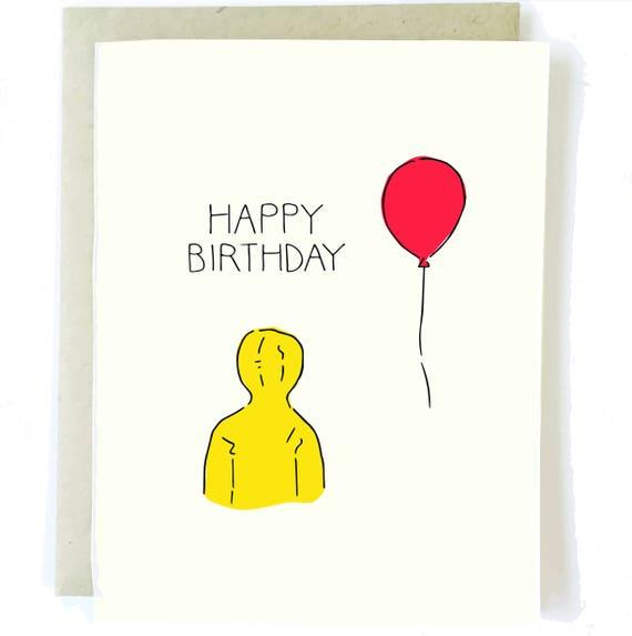 IT Birthday Card Boyfriend Birthday Card Halloween Birthday – Birthday Friend Card