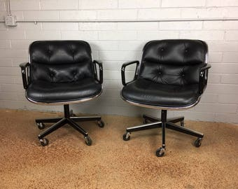 Charles Pollock Executive Office Chairs