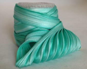 Silk ribbon Shibori N129  Free delivery from  50 dollar...