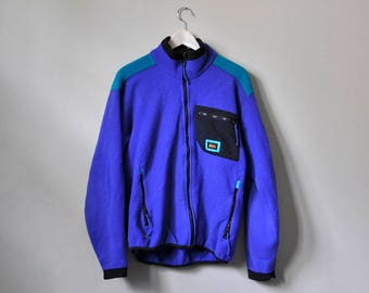 Retro REI Blue Fleece Jacket