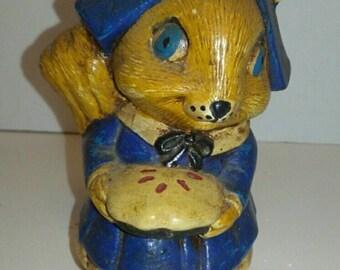 Pilgrim Squirrel Figurine
