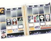 Pumpkin King Planner Stickers Weekly Kit - For use with Erin Condren Vertical Lifeplanner // 21 (Nightmare Before Christmas)