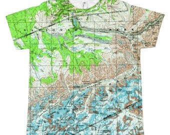 Kids Size of Any MapShirt! Choose any of our map shirts to have made in a childrens size!