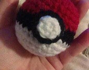 Crochet Pokeball (Pokemon)