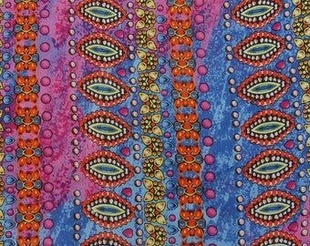 """Cushion Multicolor Fabric, Abstract Print, Sewing Material, Home Decor Fabric, 44"""" Inch Cotton Fabric By The Yard ZBC9094C"""