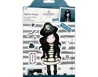 Rubber Stamps - Santoro - Piracy