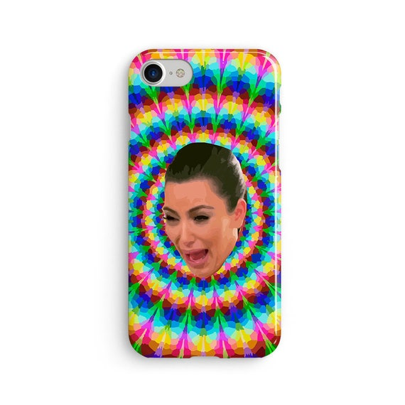 Kim crying trippy - iPhone 7 case, samsung s7 case, iphone 7 plus case, iphone se case 1P039