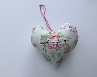 Cath Kidston fabric heart decoration