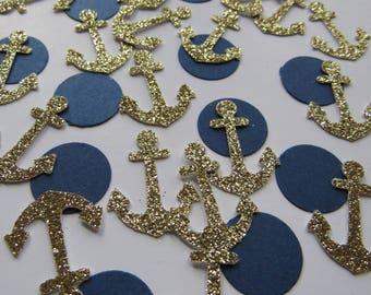 Anchor Confetti// Nautical Confetti - FREE SHIPPING!