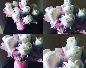 Baby Gift Nappy Bouquet