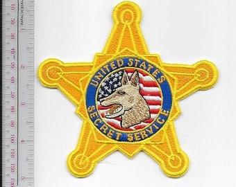 K-9 Police US Secret Service USSS Special Operations Explosives Detection Canine Uniformed Unit