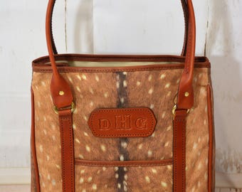 Axis Print Large Tote