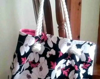 Large Beach Bag ~ Large Tote Bag ~ Large Hand bag