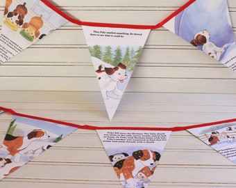 2.6m The Poky Little Puppy's First Christmas Golden Book Bunting