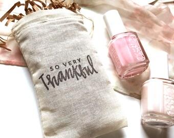 Wedding Favor Bags || Custom Wedding Favors || Shower Party Favors || Party Favor Bags || Muslin Favor Bags || 3 x 5 Favor Bag || Treat Bag