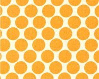 Amy Butler Lotus Dots in Orange - 1 yard