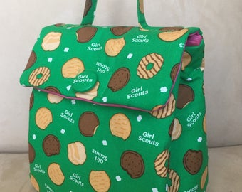 Girl Scout Cookies Lunch Bag